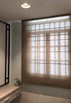 Roller Shades Installed In Monte Sereno